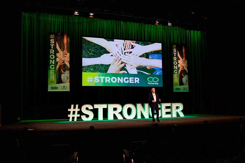 Partnership grows #STRONGER at biennial Specsavers partner seminar