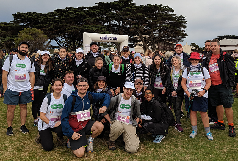 SpecTrekkers raise more than $13,500 for The Fred Hollows Foundation