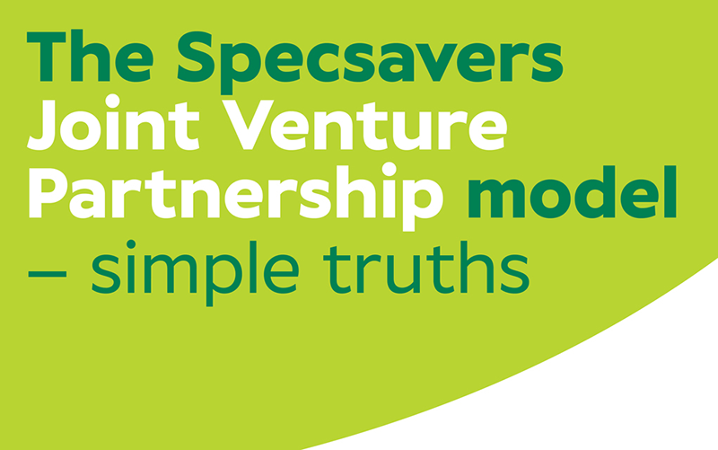 The Specsavers Partnership model – simple truths