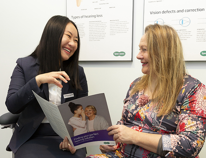 A day in the life of a Specsavers audiologist with My Phuong Lam