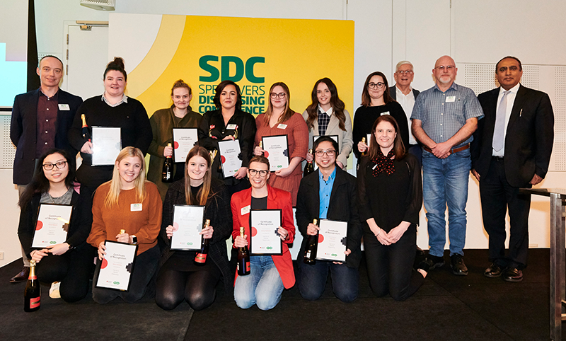 Cert IV graduates celebrate at SDC3