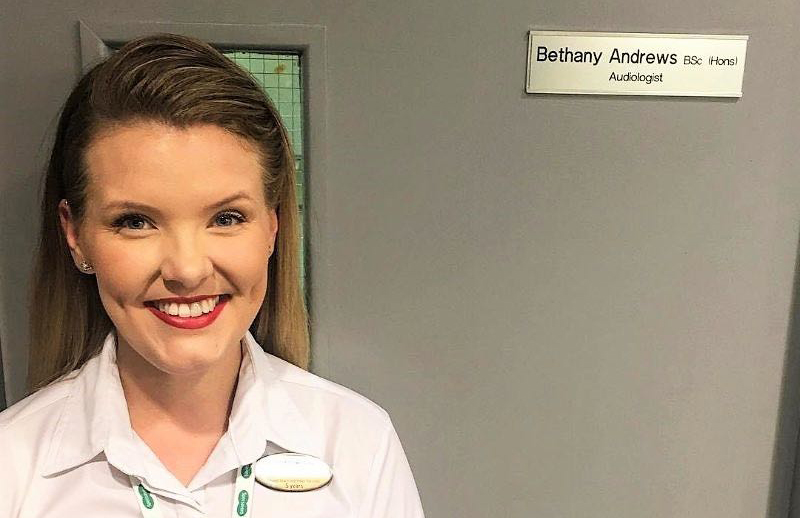 From in-store 'Meet and Greeter' to qualified Audiologist in just six years