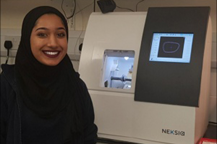 Spotlight: Henna's story on becoming an apprentice Lab Technician