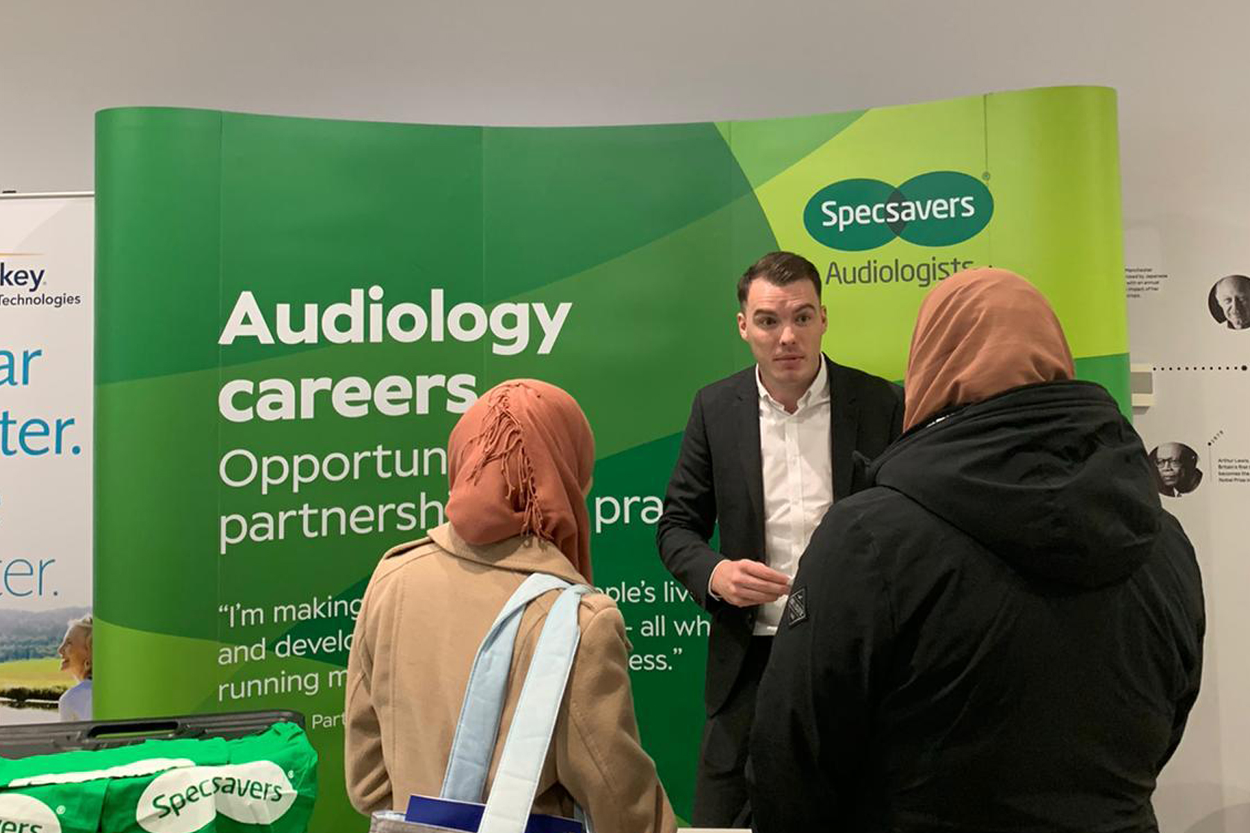 Specsavers wants to hear from talented audiology graduates