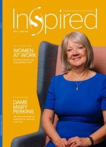 dame mary inspired magazine