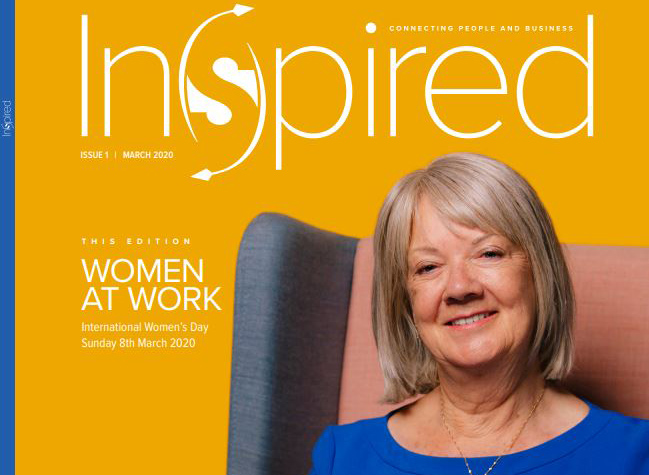 Inspired magazine talks to Dame Mary Perkins for International Women's Day