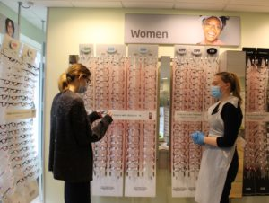 Specsavers Pre-reg Optometry student Charlotte Acton 2