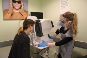 Specsavers Pre-reg Optometry student Charlotte Acton